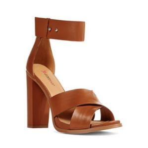 JustFab Sarai Heeled Sandals